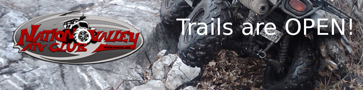 NVATVC Trails are Open